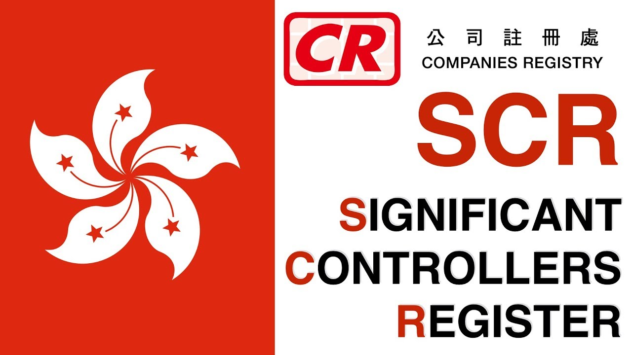 Significant Controller Register for Hong Kong Companies Registration